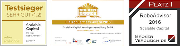 Scalable Capital Testsieger