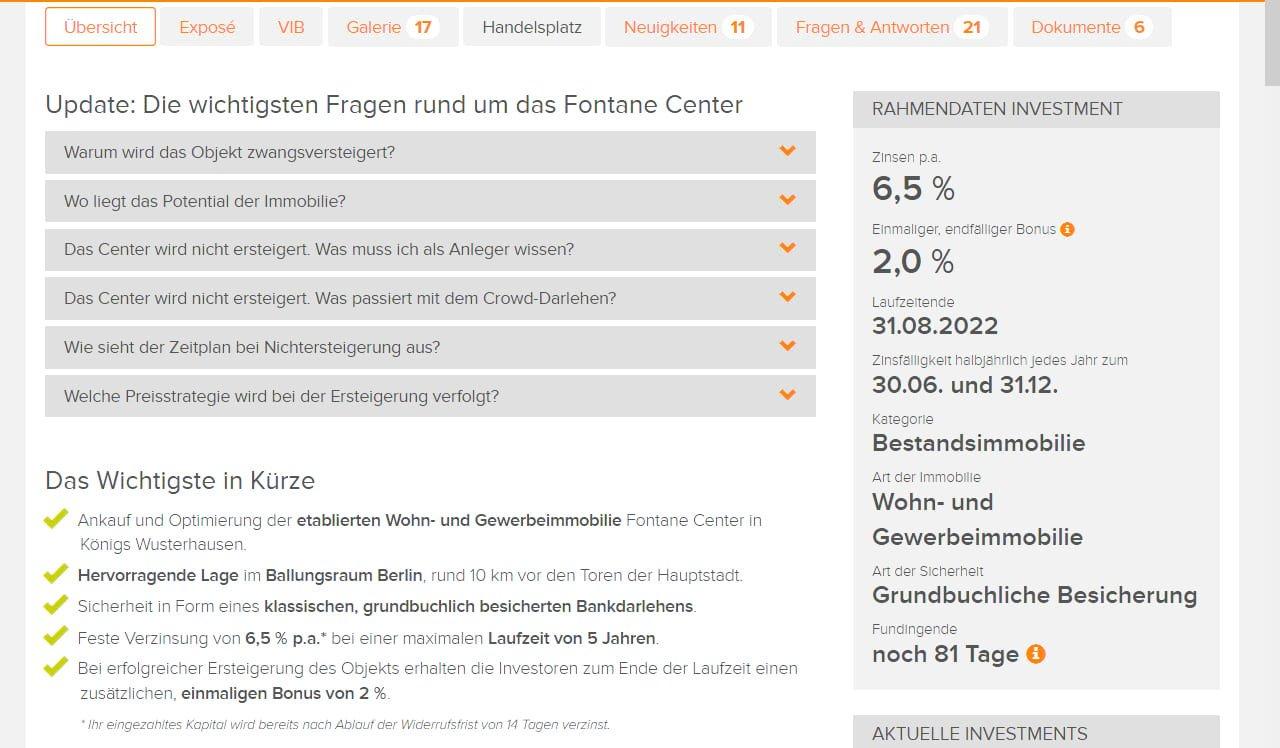 BERGFÜRST – Crowdinvesting in Immobilienprojekte. Test & Erfahrungen